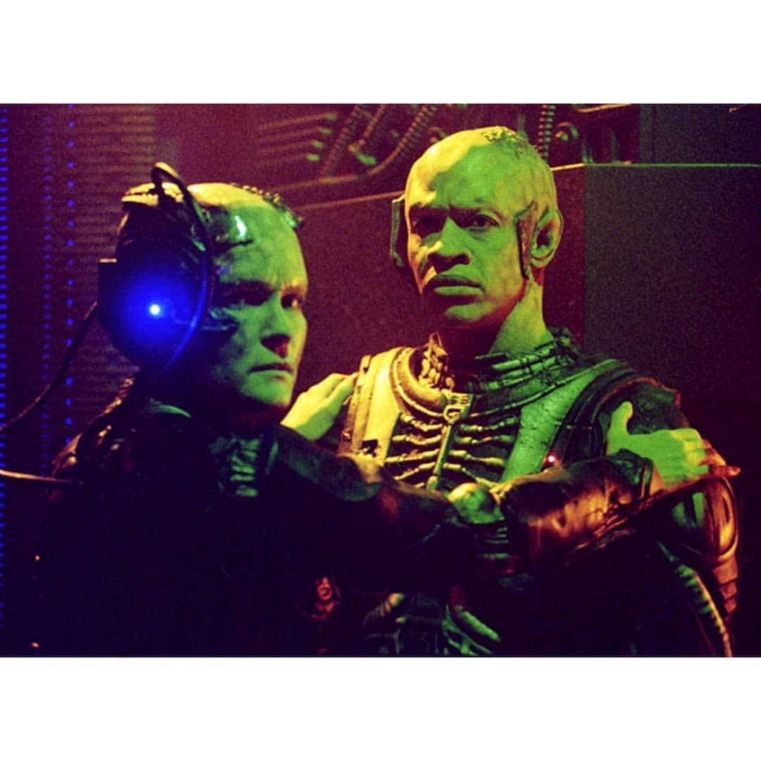 Janeway And Tuvok Assimilated Captainkathrynjaneway