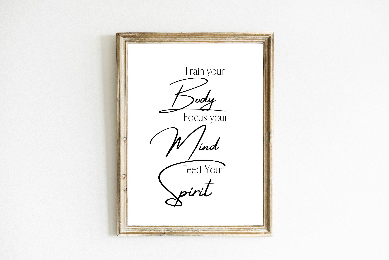 Word Of Affirmation Wall Art Self Esteem Wall Art Positive Etsy Word Wall Decor Calligraphy Wall Art Dorm Room Art