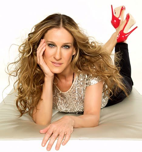 Sarah Jessica Parker, wearing this for my presentation over her!