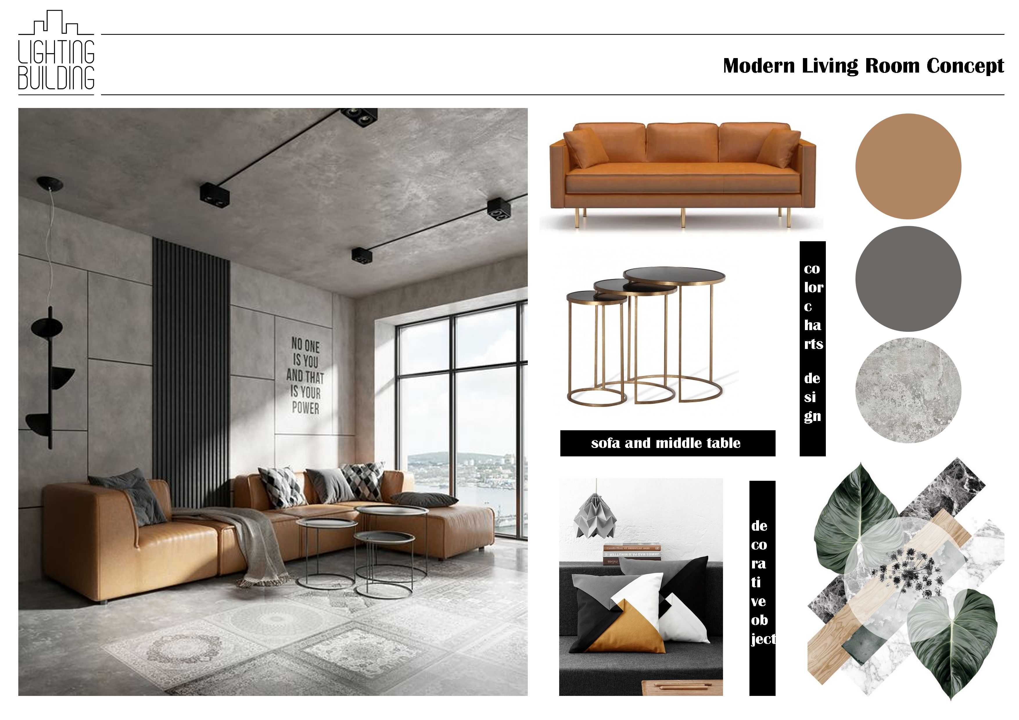 Modern Living Room In 2020 With Images Interior Design Interior Design Mood Board Interior Concept