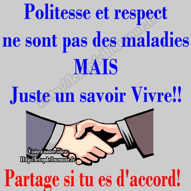 Politesse Et Respect Politesse Poeme Et Citation Et Respect