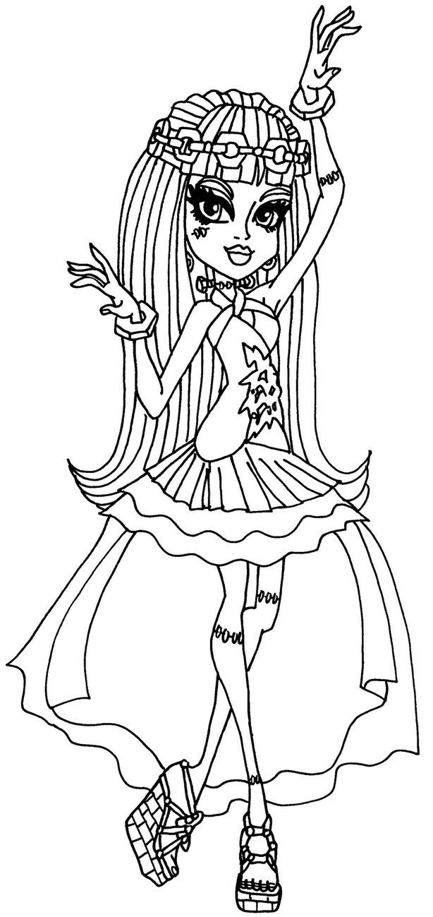 Frankie 13 Wishes by elfkena on DeviantArt - a coloring page of ...