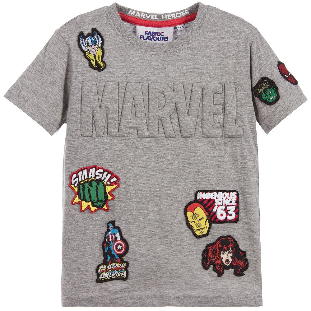 295d36fa8 Made in grey, soft and stretchy cotton jersey blend this Fabric Flavours t- shirt is both comfortable and easy to wash. Suitable for both boys and  girls, ...