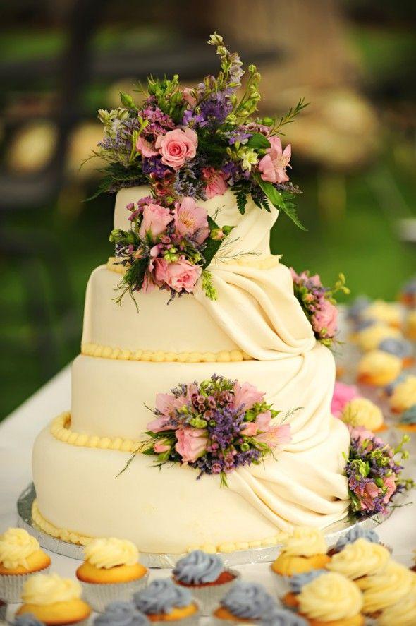 Country Backyard Style Wedding | Pinterest | Cake, Country weddings ...