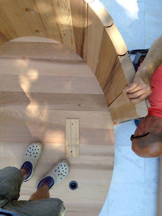 How To Assemble a Cedar Hot Tub  Chofu Wood Stove Pinterest