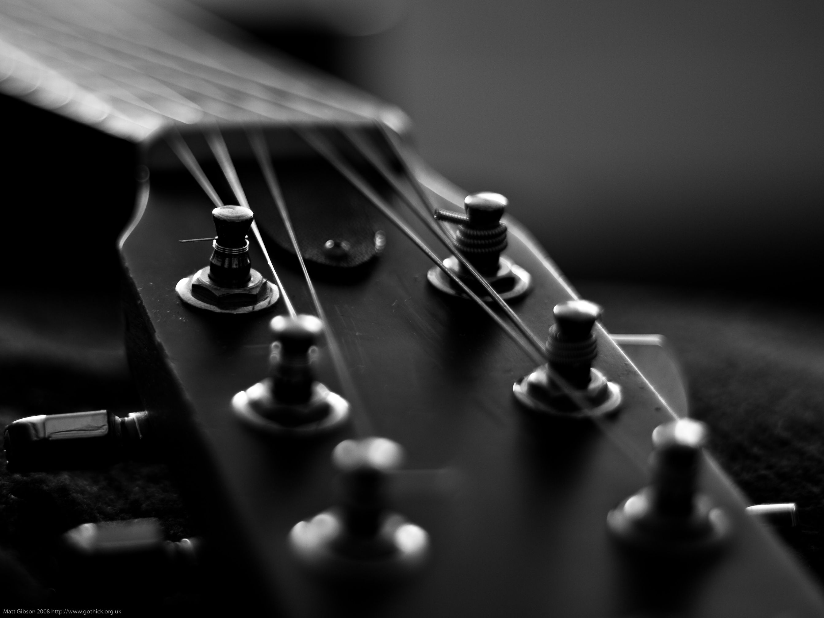 Guitar Black And White (id 176417) Iphone