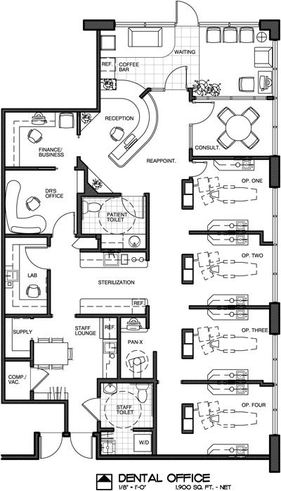 Coffee Shop Floor Plans Examples