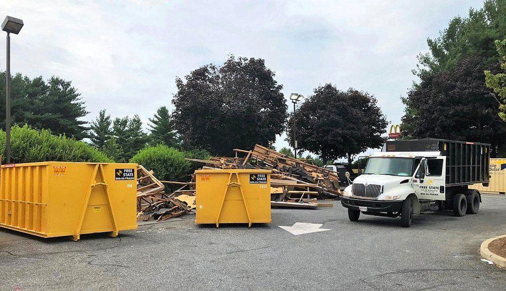 Dumpster rental in frederick md dumpster rental trash