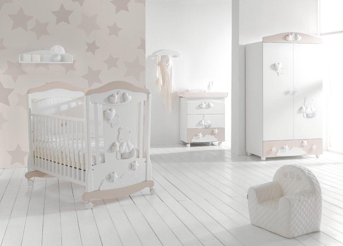 Cameretta Stella - mibb - lettini per bambini - culla per ...