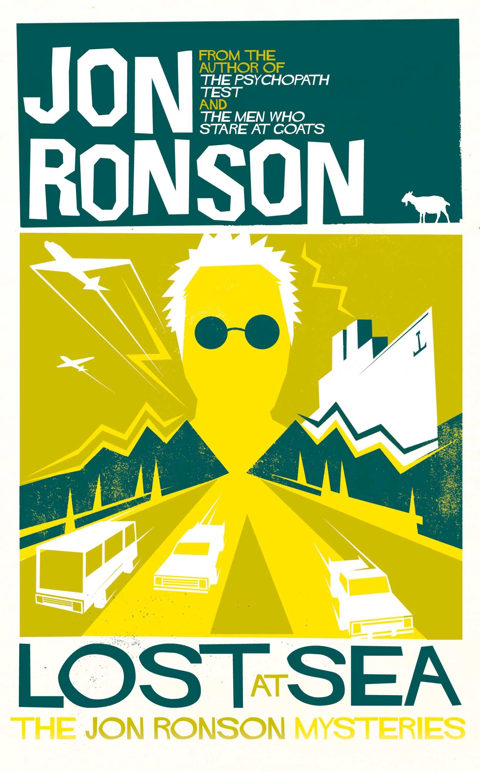 Lost at sea by jon ronson jon ronson audio books books