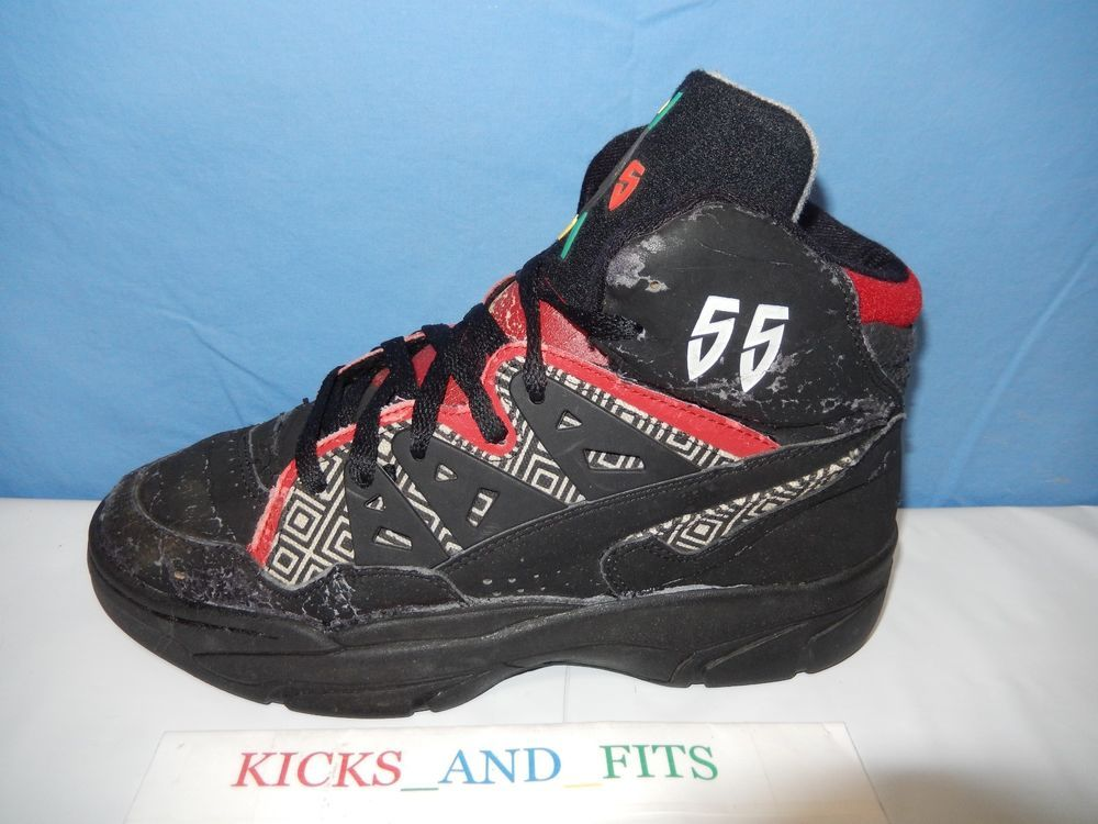 Rechazar Descarga Sequía  Vtg #55 Adidas Mutombo OG 1993 Sz 9.5 Black White Red Not Retro Basketball  Shoes #adidas #AthleticSneak… | Retro basketball shoes, Basketball shoes,  Black white red