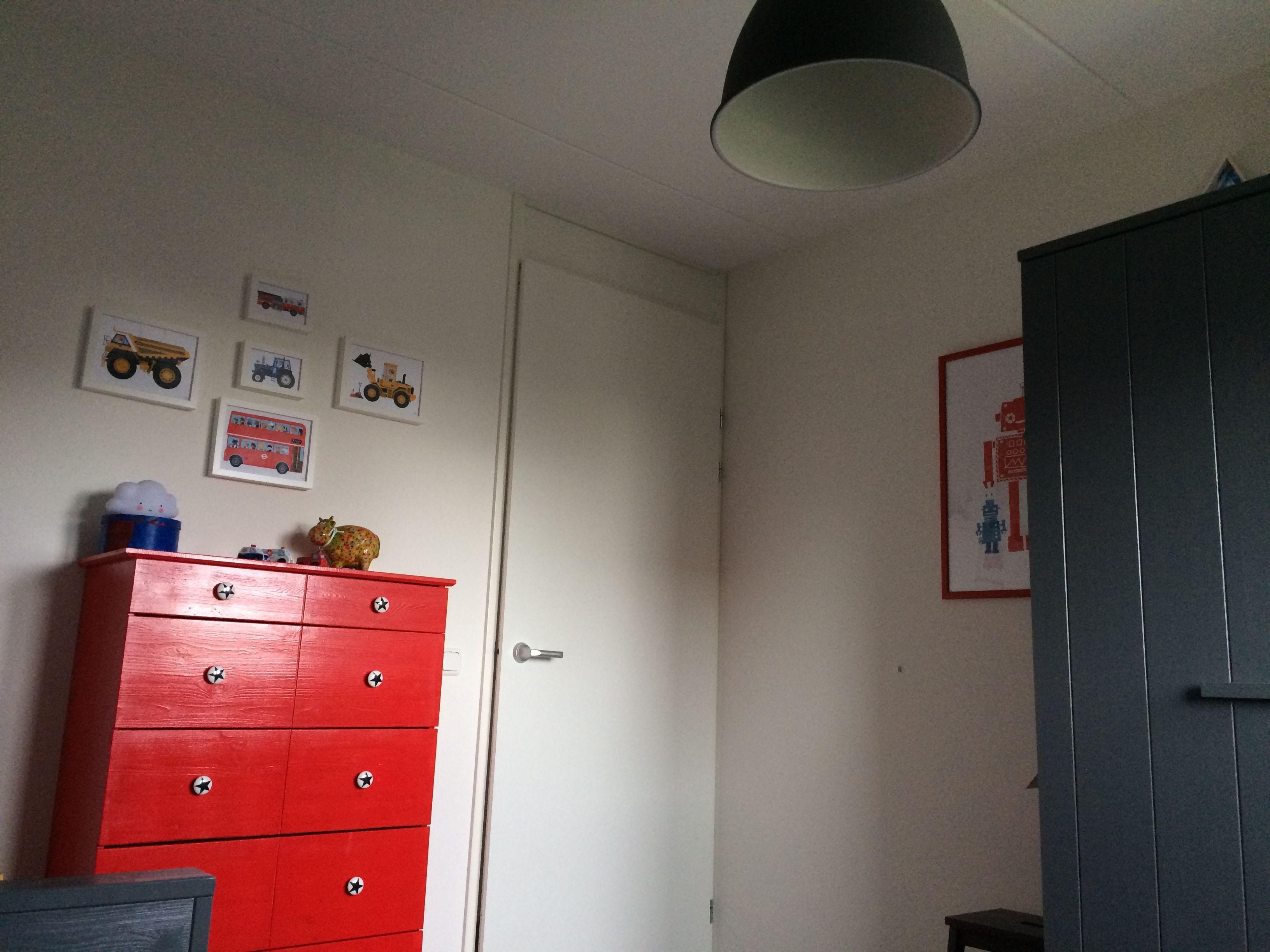 Ikea tarva Ikea tarva dresser Ikea tarva ladenkast slaapkamer rood ...