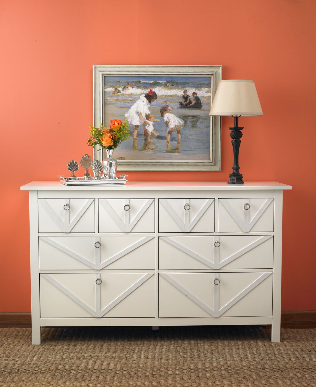 Here's A New Angle On Furniture. Update A Plain Dresser