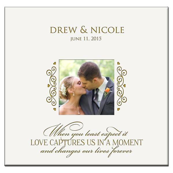 Personalized Wedding Photo Album Custom Engraved Photo Book Holds