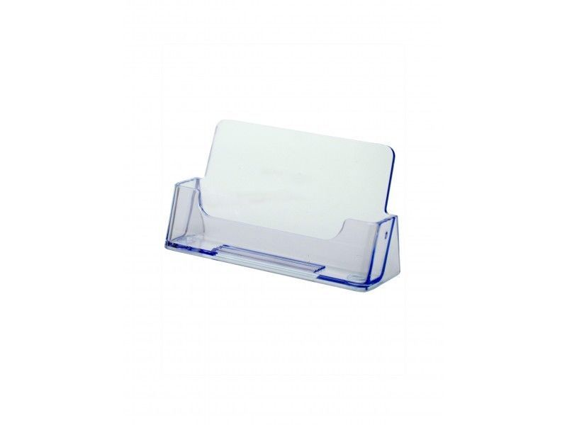 6 Clear Business Card Holder Desk Top Acrylic Office Counter Display ...