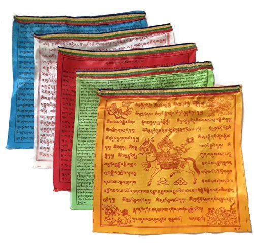 "Tibetan Prayer Flag - Extra Large Satin Design (18"" x 18""... https://www.amazon.com/dp/B01F2G9FPW/ref=cm_sw_r_pi_dp_CuLHxbPP5G4R9"