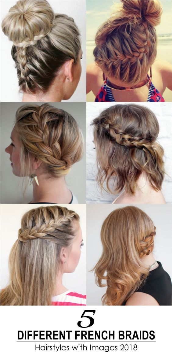 French Braids Are Always Loved By The Girls And Ladies It S A Perfect Styling Option For A Romantic Hair Styles Cool Braid Hairstyles French Braid Hairstyles