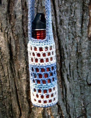 hacer bolso de ganchillo para botella - Buscar con Google | DIY ...