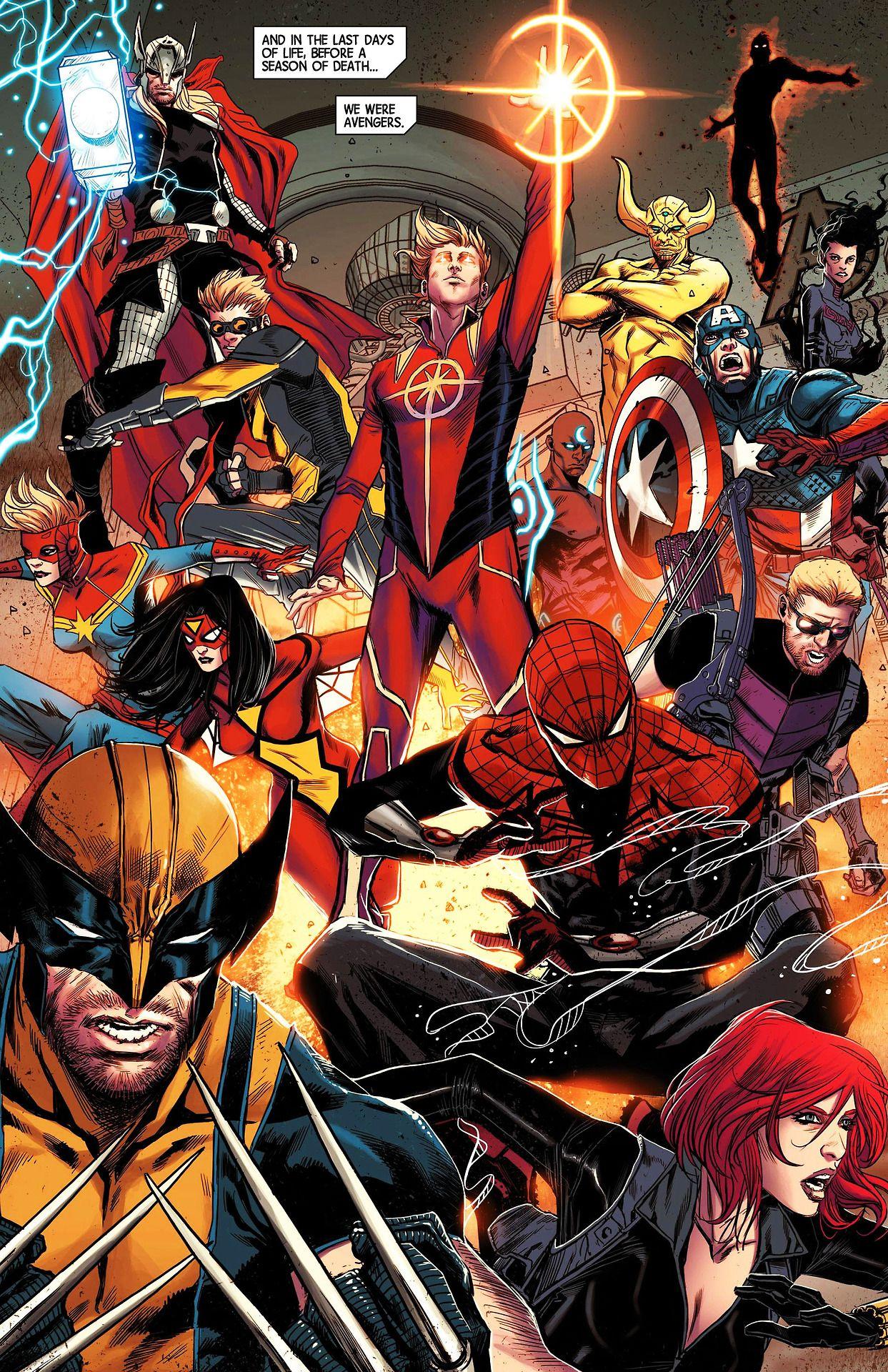 Avengers World #17 Marvel