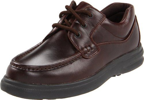 Hush Puppies Mens Gus OxfordDark Brown105 EW US ** Click image for more details.