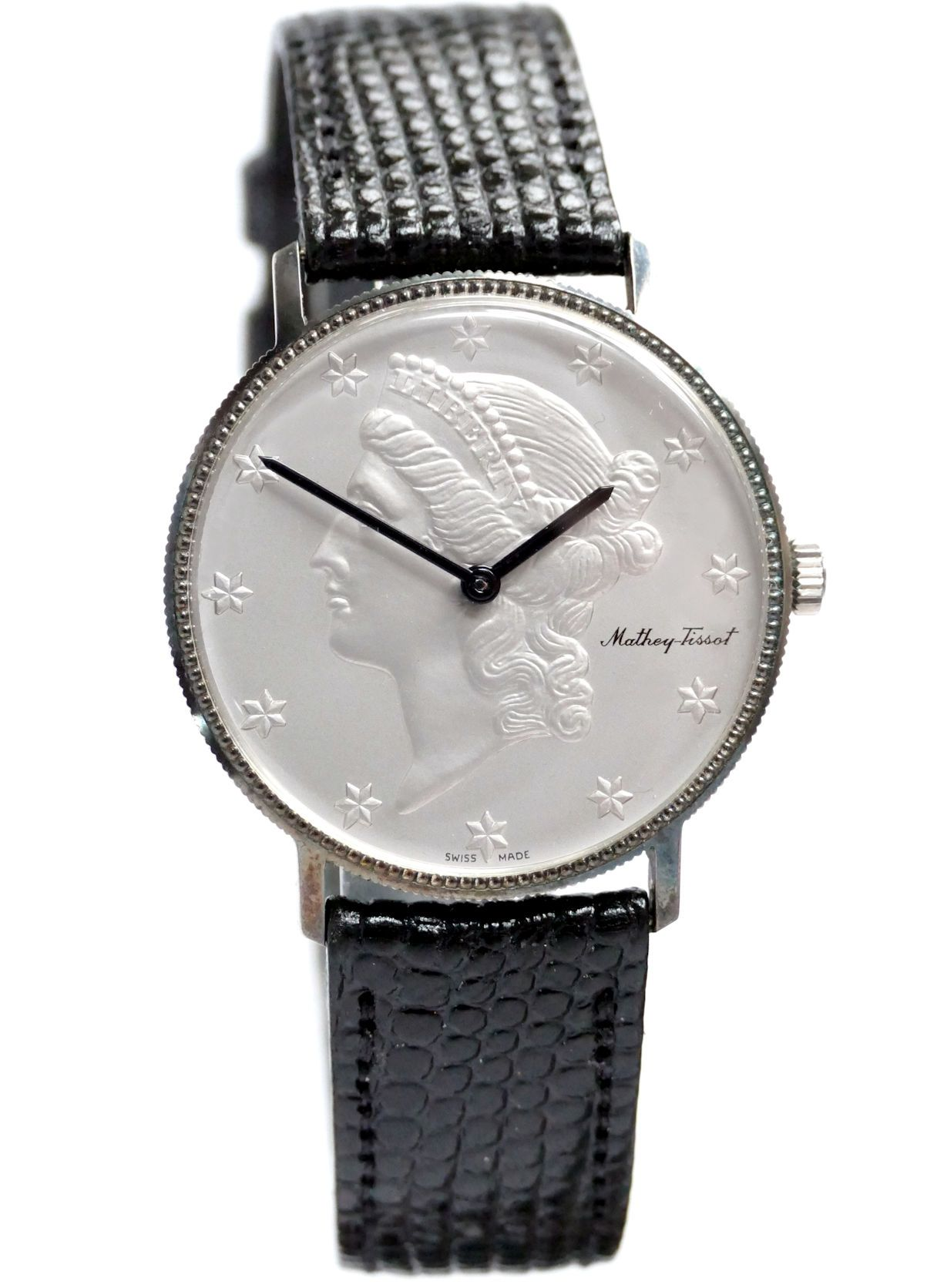 coin face watch