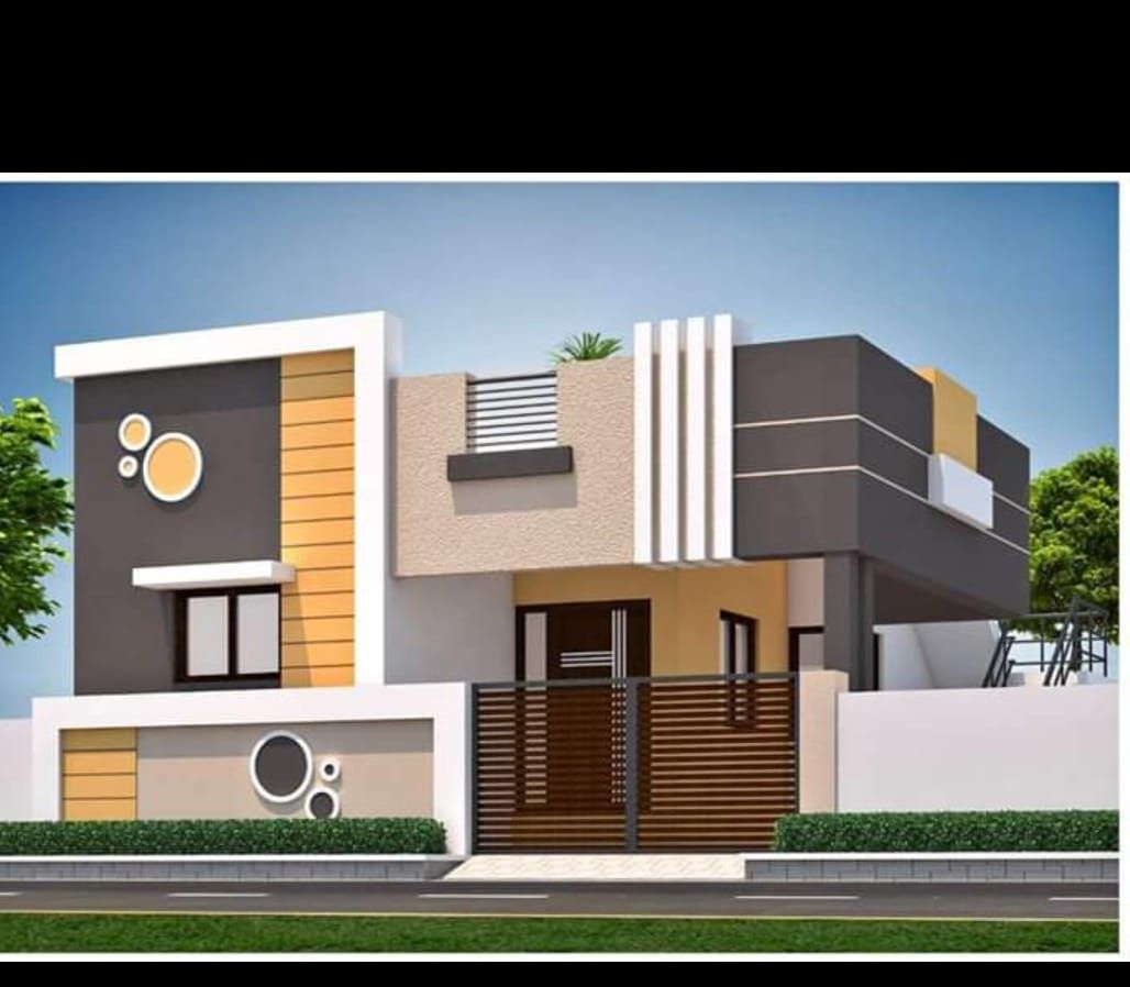 Compound Design Small House Front Design House Front Design House Floor Design