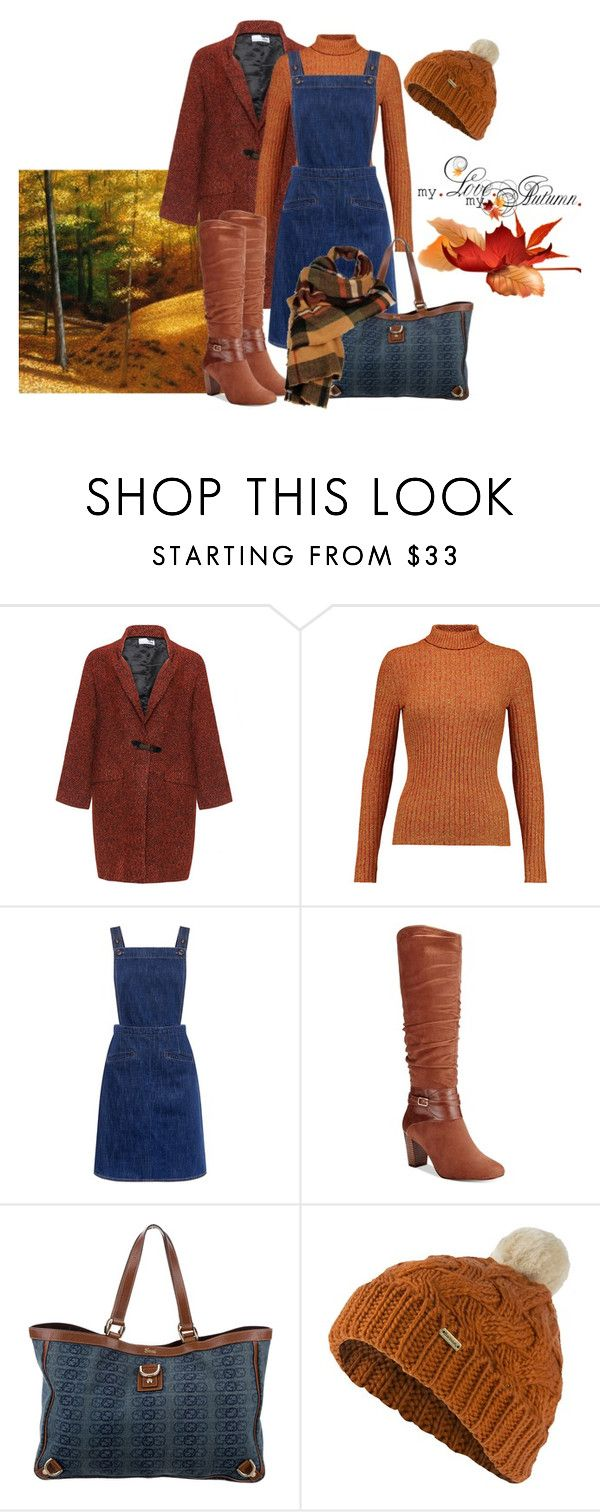 """""""Untitled #348"""" by janie-xox ❤ liked on Polyvore featuring Bohème, Just Cavalli, M.i.h Jeans, Bella Vita, Gucci, Barbour and Wilsons Leather"""
