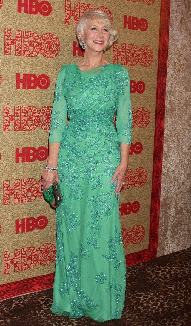 Mothers of the Bride and Groom: Helen Mirren, Golden Globes Awards ...