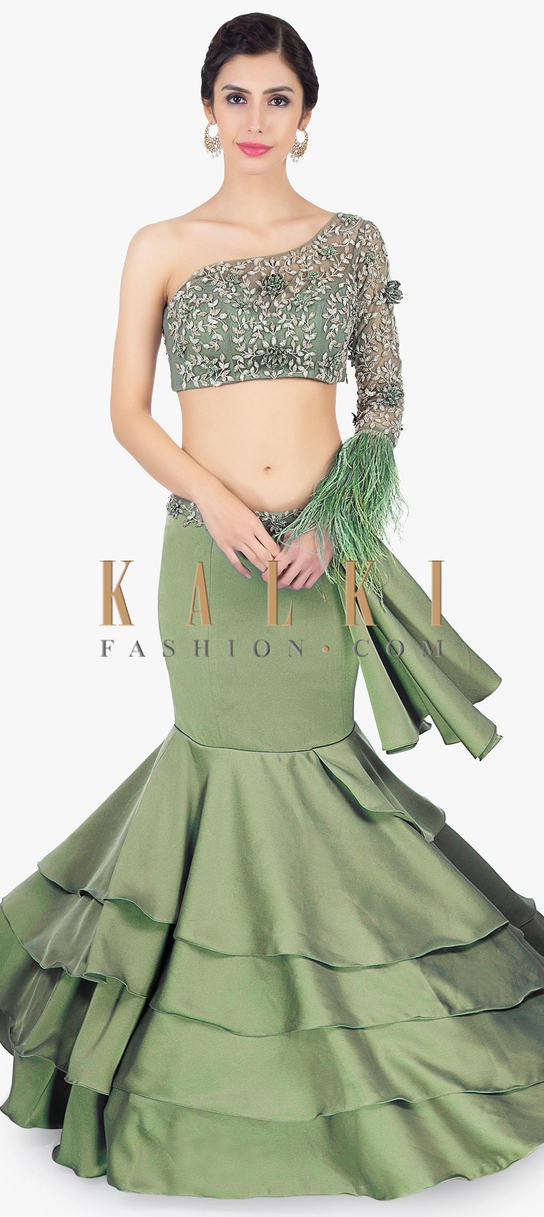ccf6792ae7 Fish Cut Gown · Crop Top Designs · Buy Online from the link below. We ship  worldwide (Free Shipping over US$100