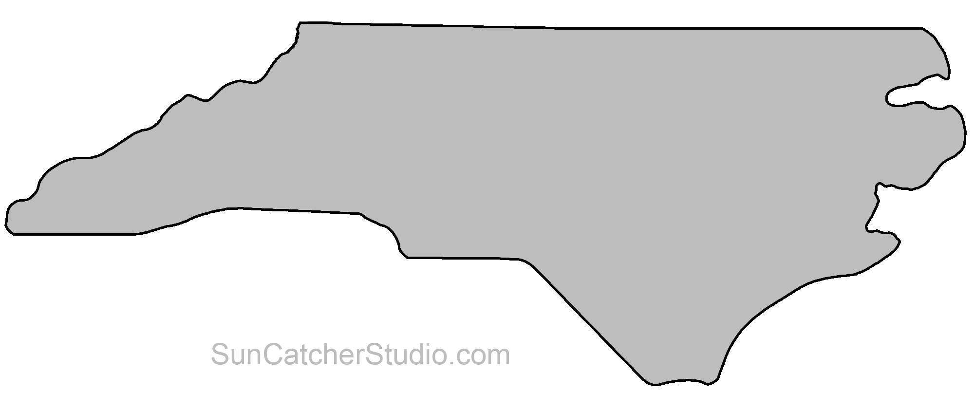 Map Outline, Printable State, Shape