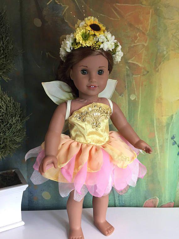 American Girl Custom OOAK Whimsical Summer Fairy Set   Puppen und ...