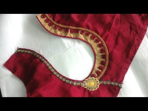 33f903c5704601 Easy Design Blouse Cutting And Stitching At Home (tips for you) - YouTube