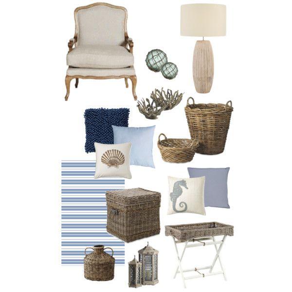 """Coastal Blues"" By By Coastal Style Blogspot"