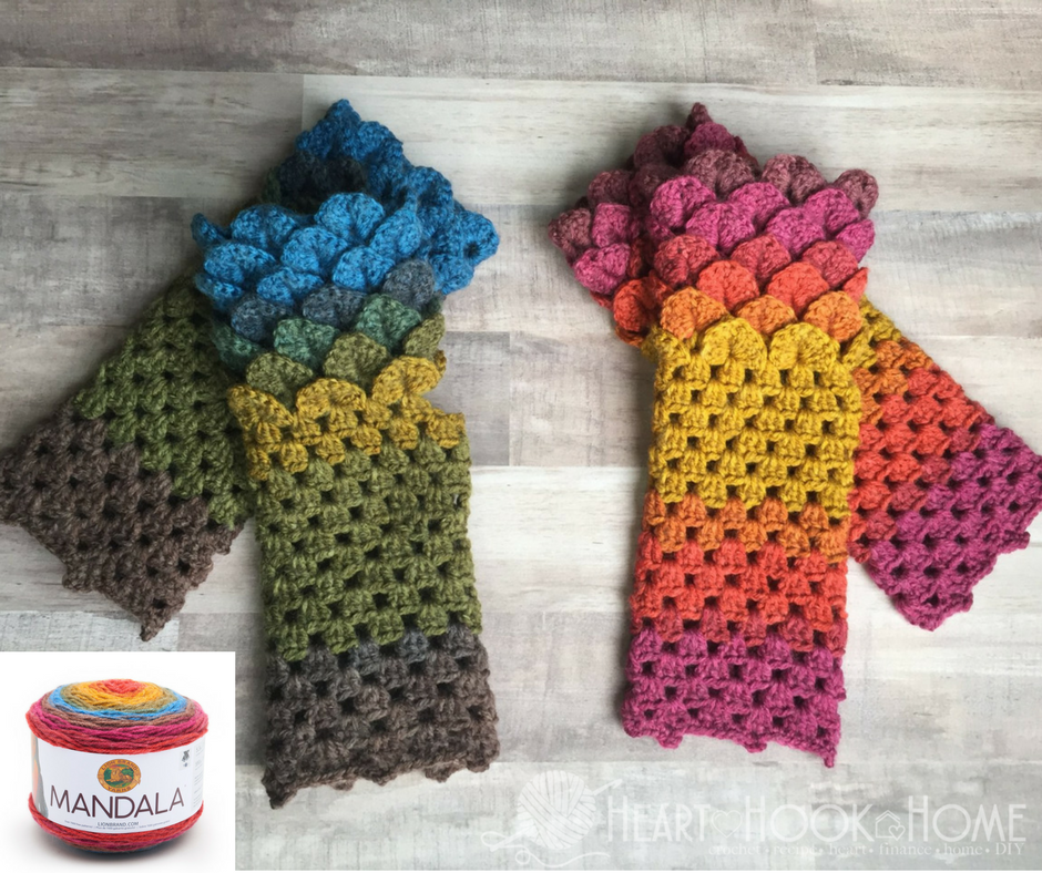 How to Create Planned Yarn Color Transitions in Crochet | Pinterest ...