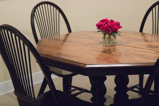 What I Learned from Refinishing Our Kitchen Table Myself (Twice ...