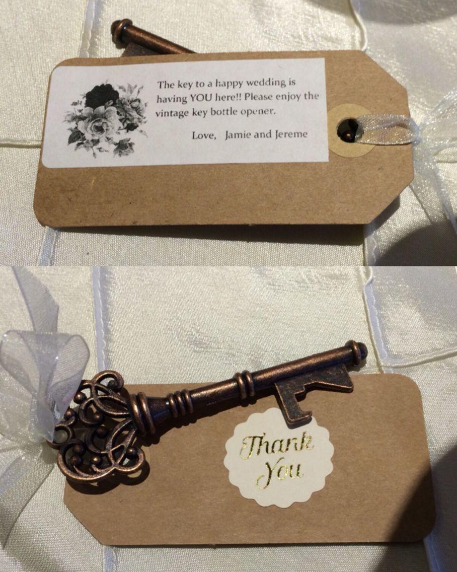 Nifty vintage keys, wedding gifts