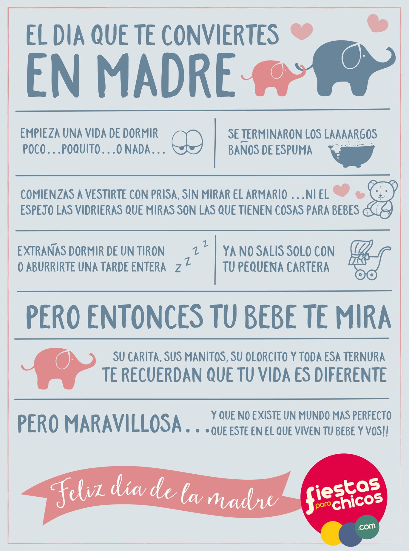 Día de la madre, maternidad, frases maternidad | Guía de Mamá ...