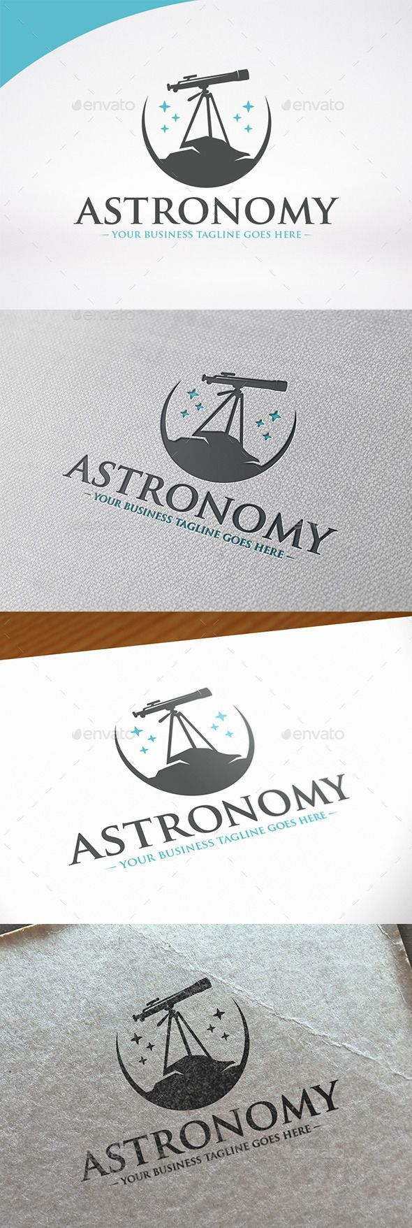 Astronomy Logo Template — Vector EPS technology