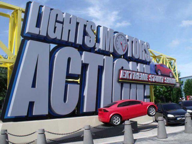 Lights, Motors, Action Extreme Stunt Show at Disney Hollywood Studios
