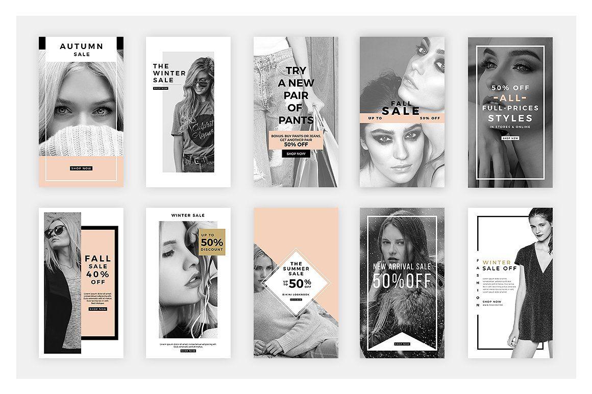 Fashion Instagram Stories V10   Instagram fashion, Instagram story ...