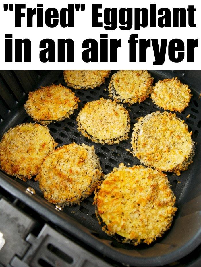 Air Fryer Eggplant Recipe in 2020 Air fryer dinner