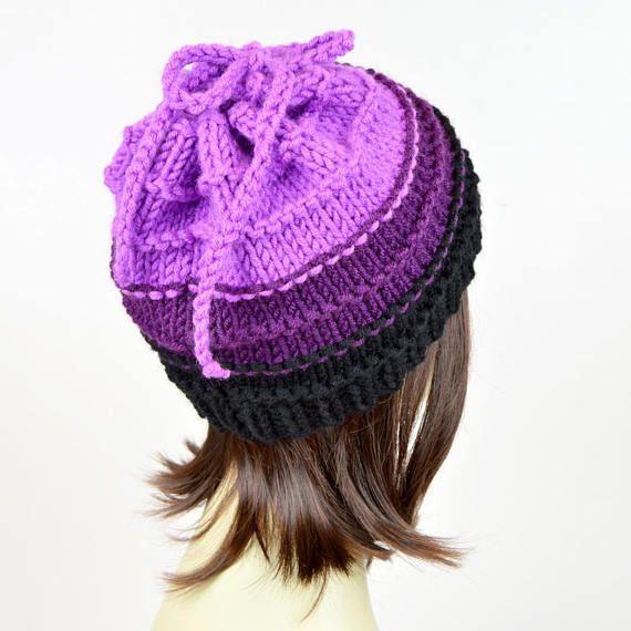 2556488fc Ursula Hat Knitting Pattern // Little Mermaid Witch Disney Hat Scarf ...