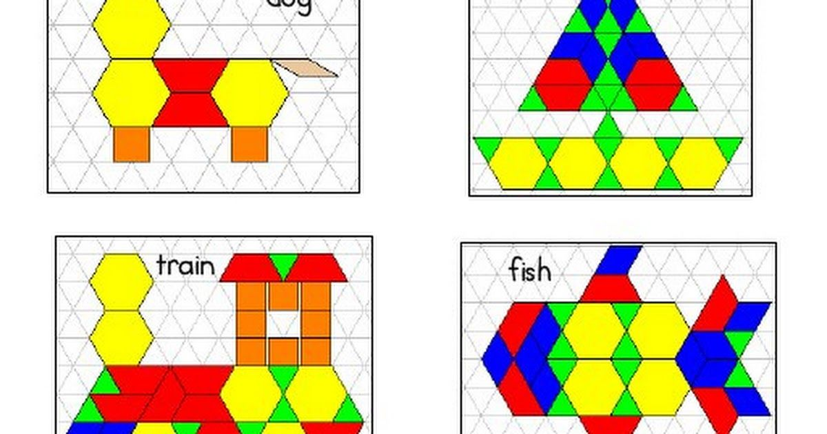 Pattern Blocks Pdf Pattern Blocks Math Patterns Patterns Task
