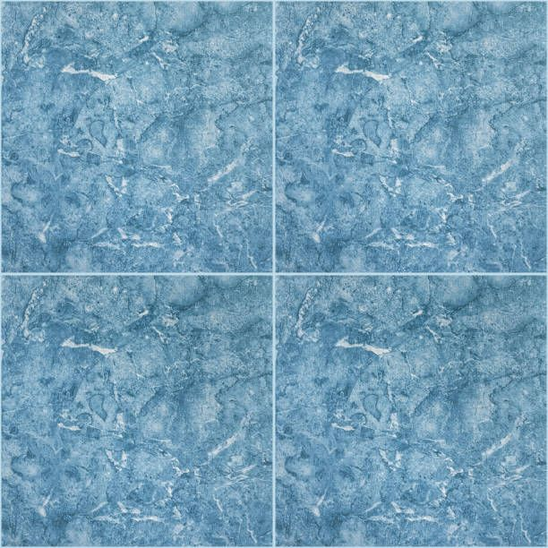 blue square ceramic tiles texture