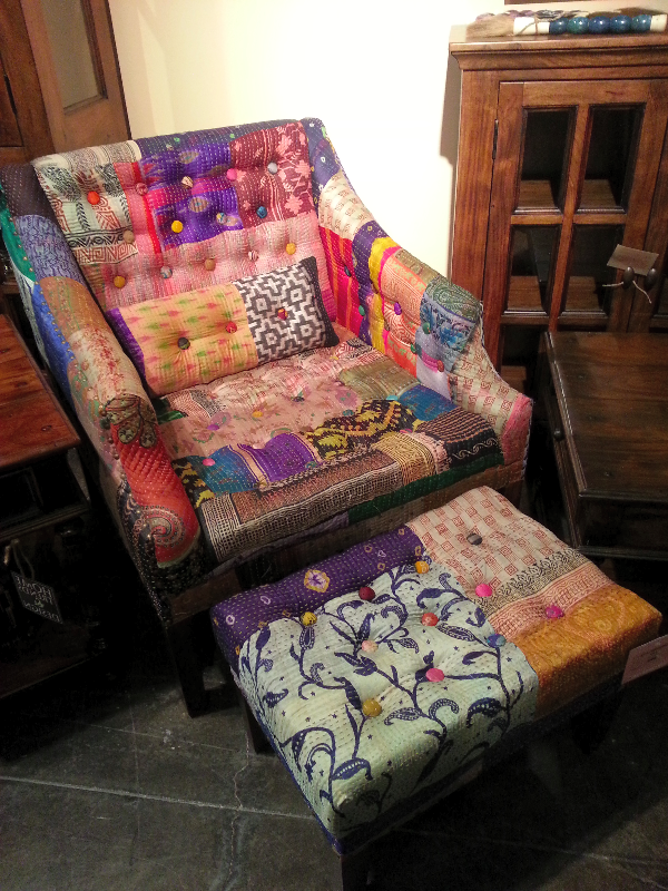 Would You Dare Designate A Space For A Chair Such As This In Your