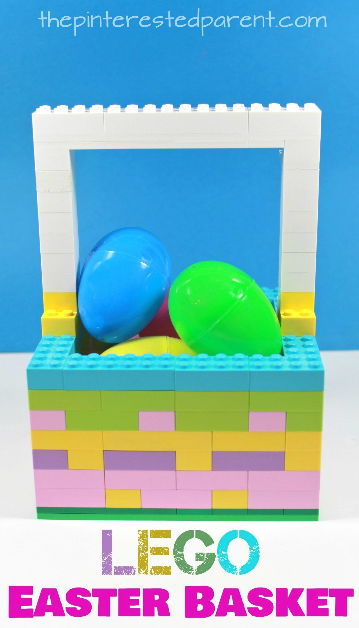 Lego easter basket a great gift idea or lego build for the kids lego easter basket a great gift idea or lego build for the kids kids negle Choice Image