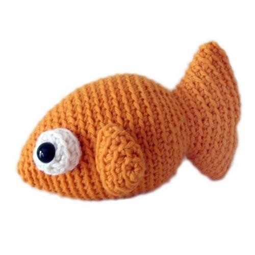 Amigurumi fish Stuffed Animal Crochet Pattern | \