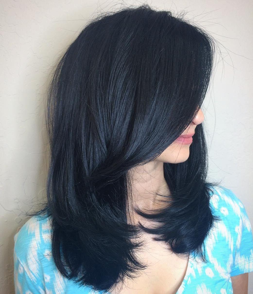 20 Blue Highlights Haircolor And Hairstyles Balayage Haircolor