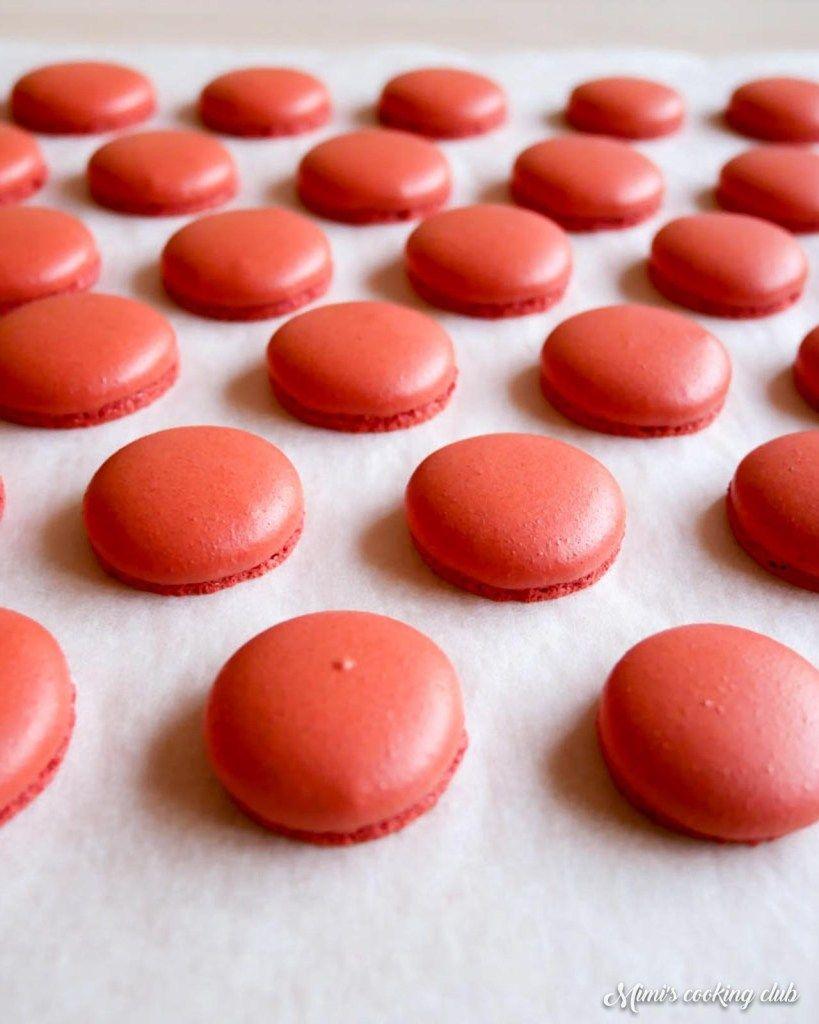Les macarons inratables - La recette de base
