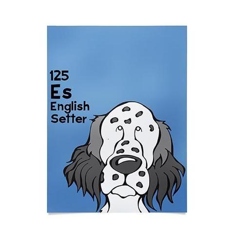 Atenglish setter125 Art Products Deny Designs Art
